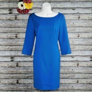 GAP | Blue Michelle Boatneck Sheath Dress